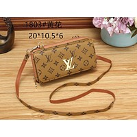 LV Louis Vuitton Women Fashion Leather Satchel Tote Shoulder Bag Handbag size:20*10.5*6