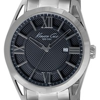Men's Kenneth Cole New York Layered Dial Bracelet Watch, 44mm