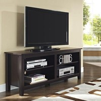"""TV Stand Home Furniture Storage Console 58"""" Wood  Espresso Modern Durable Rack"""