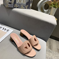 dior women casual shoes boots fashionable casual leather women heels sandal shoes 43