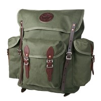 Wanderer Backpack - Duluth Pack :: Duluth Pack :: Made in the USA :: Quality leather and canvas luggage, backpacks, camping, and outdoor gear.