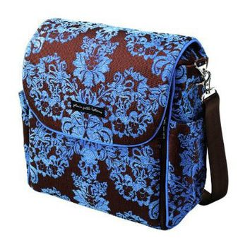 Petunia Pickle Bottom Women`s Boxy BBCH-00-188 Backpack/Diaper Bag,Blueberry Acai,One Size