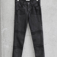 Mid Rise Express Edition Coated Moto Jean Legging from EXPRESS