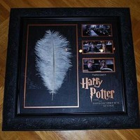 Harry Potter and the Philosopher's Stone (2001), WINGARDIUM LEVIOSA FEATHER, original / screen-used