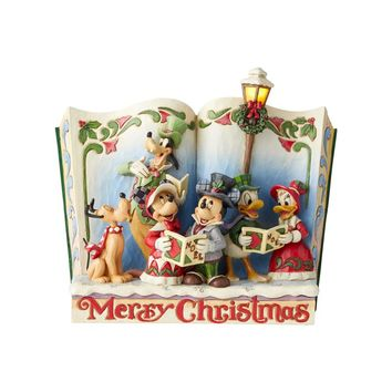 Jim Shore Disney Traditions Storybook Christmas Carol - 6002840