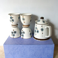 Vintage Coffee/Teaware Set Gift Idea Wedding Gift Gift for Her Gift For Him