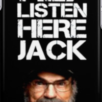 DUCK DYNASTY HEY LISTEN HERE JACK IPHONE CASE IPOD CASE iPhone Cases &