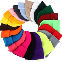 Simple Beanie in Any Color of the Rainbow