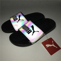 PUMA Fashion Chameleon Reflective Sandal Slipper Shoes