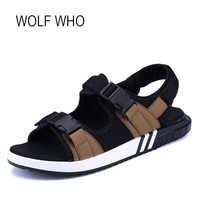 WOLF WHO 2018 Summer Women Beach Sandals Ladies Walking Water Outdoor Girls Trekking Camping Outing Plus Size Female Shoes