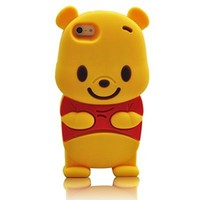 LliVEER 3D Lovely Soft Silicone Skin Case Cover Shell Protector for Iphone 6 4.7'' Beer