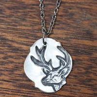White Tail Necklace