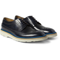Paul Smith Shoes & Accessories - Contrast-Sole Leather Longwing Brogues | MR PORTER