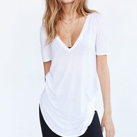 Truly Madly Deeply Deep-V Tee | Urban Outfitters