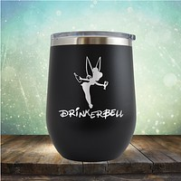 Drinker Bell - Stemless Wine Cup