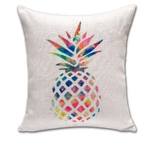 Home Decor Soft Comfortable Cotton Pineapple Pillow