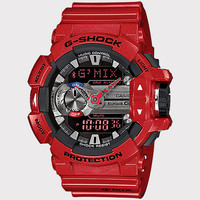 G-Shock Gba400-4A Bluetooth Smart Watch Red One Size For Men 25415430001