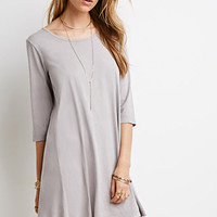 Mineral Wash Trapeze Dress