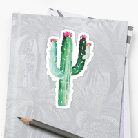 'Cactus' Sticker by sageanderss