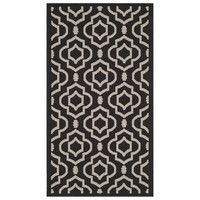 Avril Outdoor Rug - Black / Beige - Safavieh®