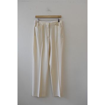Stella McCartney Cream Trouser (27/28)