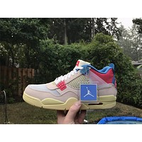 Union x Air Jordan 4'Guava Ice' sneakers basketball shoes