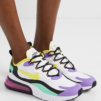Nike Air Max 270 React Felt And Ripstop Sneakers Shoes