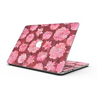 Red Floral Succulents - MacBook Pro with Retina Display Full-Coverage Skin Kit