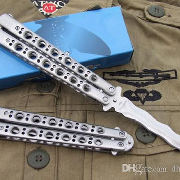 BM Butterfly BM49 Balisong 57HRC tactical Single Edge Outdoor Tactical folding knife gift knife knives new in original box