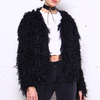 All She Wrote Fur Jacket
