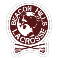 Teen Wolf - Beacon Hills Lacrosse Logo (Shirt/Sticker/Poster Design)