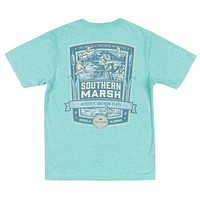 YOUTH Genuine Collection - Duck Hunting Tee in Washed Kelly by Southern Marsh