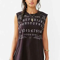 Truly Madly Deeply Spirit Guider Muscle Tee- Black
