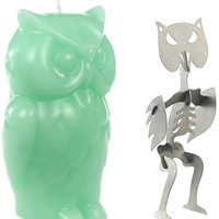 Angry Owl Candle by Skeleton Candles (Multiple Options)