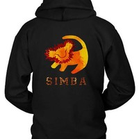 ESBH9S Simba Hoodie Two Sided