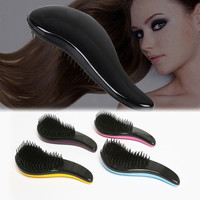 Professional Detangle Brush Paddle Hair Beauty Healthy Styling Care Hair Comb = 4849862340