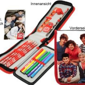 One Direction 1d Filled Pencil Case Stationery