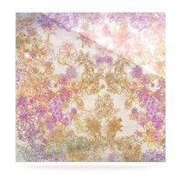"""Marianna Tankelevich """"Retro Summer"""" Yellow Pink Luxe Square Panel"""