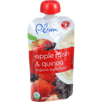 Organic - Apple, Raisin and Quinoa - 6+ Months and Up - Case of 6