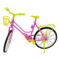 1 X Bike with Basket for Barbie Baby Girls Play House Dollhouse Furniture 3C