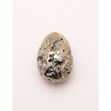 Natural Pyrite Egg