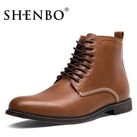 Fashion Men Boots, Black Lace Up Men Chukka Boots,  Men Ankle Boots