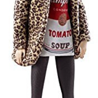 Barbie Collector Andy Warhol Campbell's Soup Can 1 Doll
