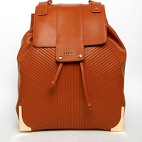 Ribbed Quilted Backpack
