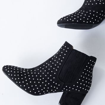 Low Rider Studded Booties