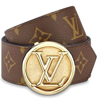 LV Classic Presbyopic Wild Smooth Buckle Belt