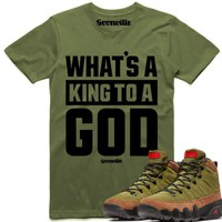 KING GOD Sneaker Tees Shirt - Jordan 9 Beef Broccoli