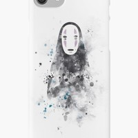 'No Face' iPhone Case/Skin by MonnPrint