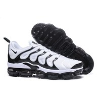 2018 Nike Air VaporMax Plus TN White Black Sport Running Shoes - Best Online Sale