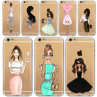 New Fashion Girl For iPhones